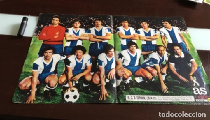 POSTER R.C.D.ESPAÑOL (Coleccionismo Deportivo - Carteles de Fútbol)