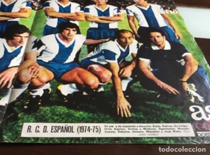 Coleccionismo deportivo: Poster R.C.D.ESPAÑOL - Foto 2 - 199905876