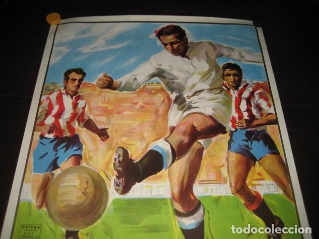 Coleccionismo deportivo: CARTEL POSTER FUTBOL MUNDIAL ESPAÑA 1982. ESTADIO V. CALDERON, MADRID. FRANCIA - AUSTRIA - Foto 2 - 200026386