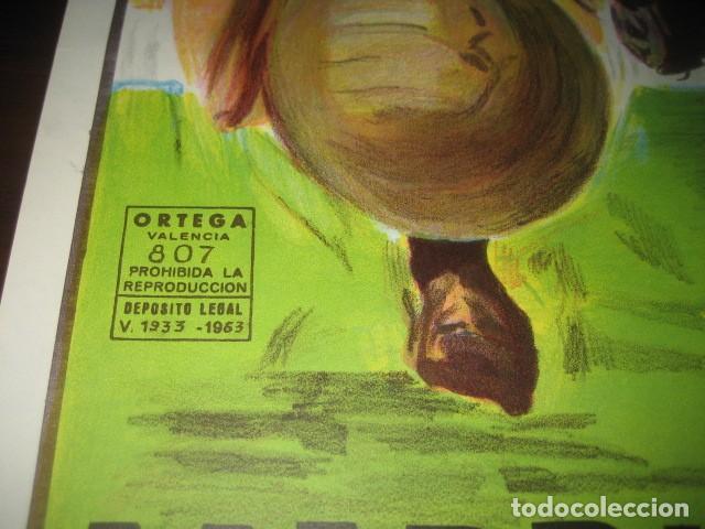 Coleccionismo deportivo: CARTEL POSTER FUTBOL MUNDIAL ESPAÑA 1982. ESTADIO V. CALDERON, MADRID. FRANCIA - AUSTRIA - Foto 7 - 200026386