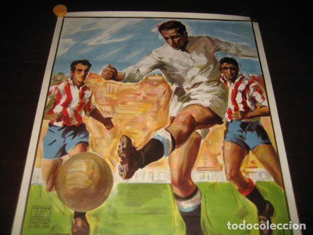 Coleccionismo deportivo: POSTER FUTBOL SEMIFINAL COPA DE EUROPA 1981 INTERNAZIONALE - REAL MADRID. ESTADIO SANTIAGO BERNABEU - Foto 2 - 200026818