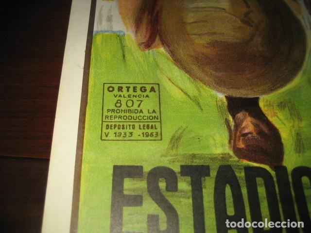 Coleccionismo deportivo: POSTER FUTBOL SEMIFINAL COPA DE EUROPA 1981 INTERNAZIONALE - REAL MADRID. ESTADIO SANTIAGO BERNABEU - Foto 6 - 200026818