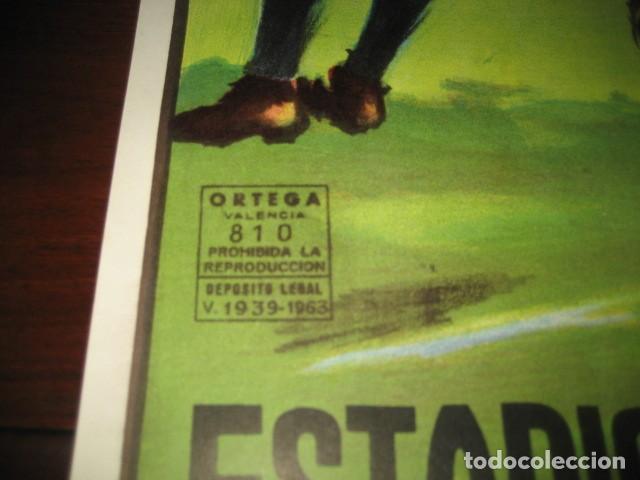 Coleccionismo deportivo: POSTER FUTBOL SEMIFINAL COPA DE LA UEFA. INTERNAZIONALE - REAL MADRID. ESTADIO SANTIAGO BERNABEU - Foto 7 - 200027143