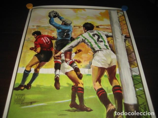 Coleccionismo deportivo: POSTER FUTBOL 1985. TOTTENHAM HOTSPUR - REAL MADRID. ESTADIO SANTIAGO BERNABEU - Foto 2 - 200027463