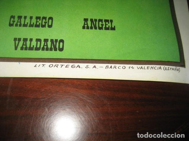 Coleccionismo deportivo: POSTER FUTBOL 1985. TOTTENHAM HOTSPUR - REAL MADRID. ESTADIO SANTIAGO BERNABEU - Foto 6 - 200027463