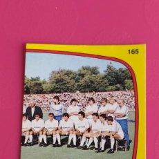 Collectionnisme sportif: 165 ALINEACION REAL MADRID PANINI 88 89 1988 1989 RECUPERADO. Lote 200759570