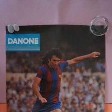 Coleccionismo deportivo: ANTIGUO POSTER DEL JUGADOR RAMOS AÑO 1980 FUTBOL CLUB BARCELONA. Lote 201892785