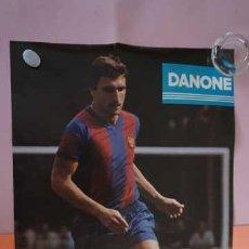 Coleccionismo deportivo: ANTIGUO POSTER DEL JUGADOR HANSI KRANKL AÑO 1979 FUTBOL CLUB BARCELONA. Lote 201896472