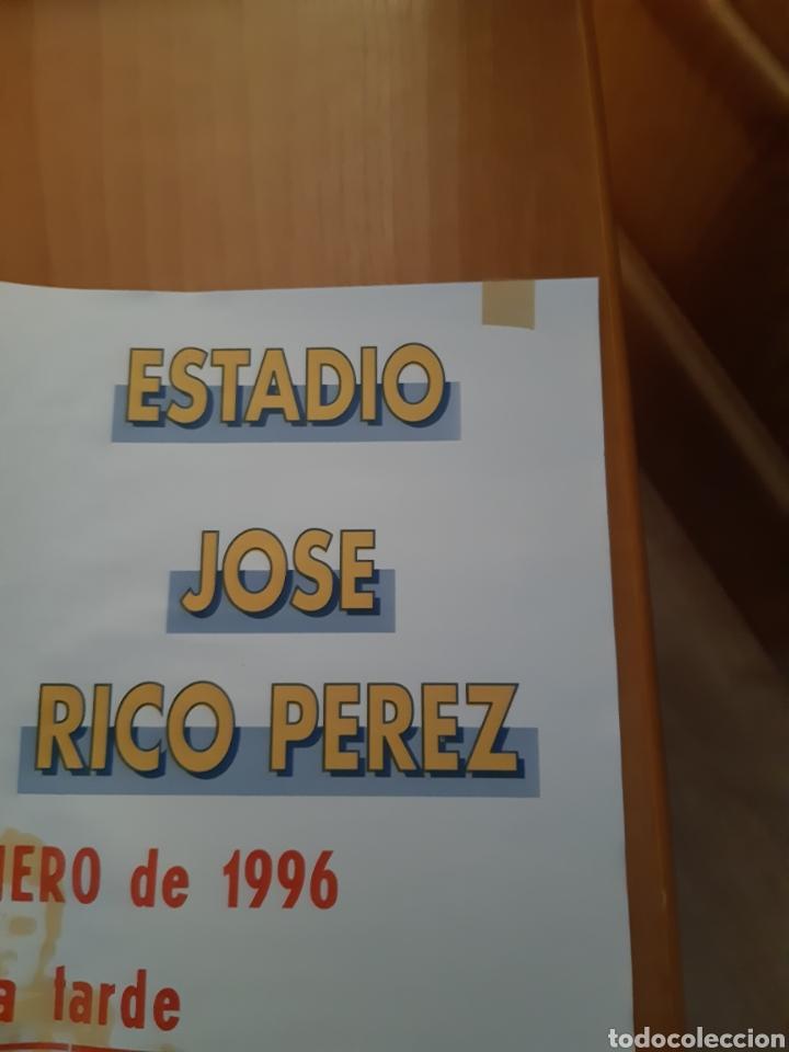 Coleccionismo deportivo: CARTEL PÓSTER FÚTBOL HÉRCULES OSASUNA SEGUNDA DIVISIÓN 95 96 1995 1996 - Foto 3 - 202681730
