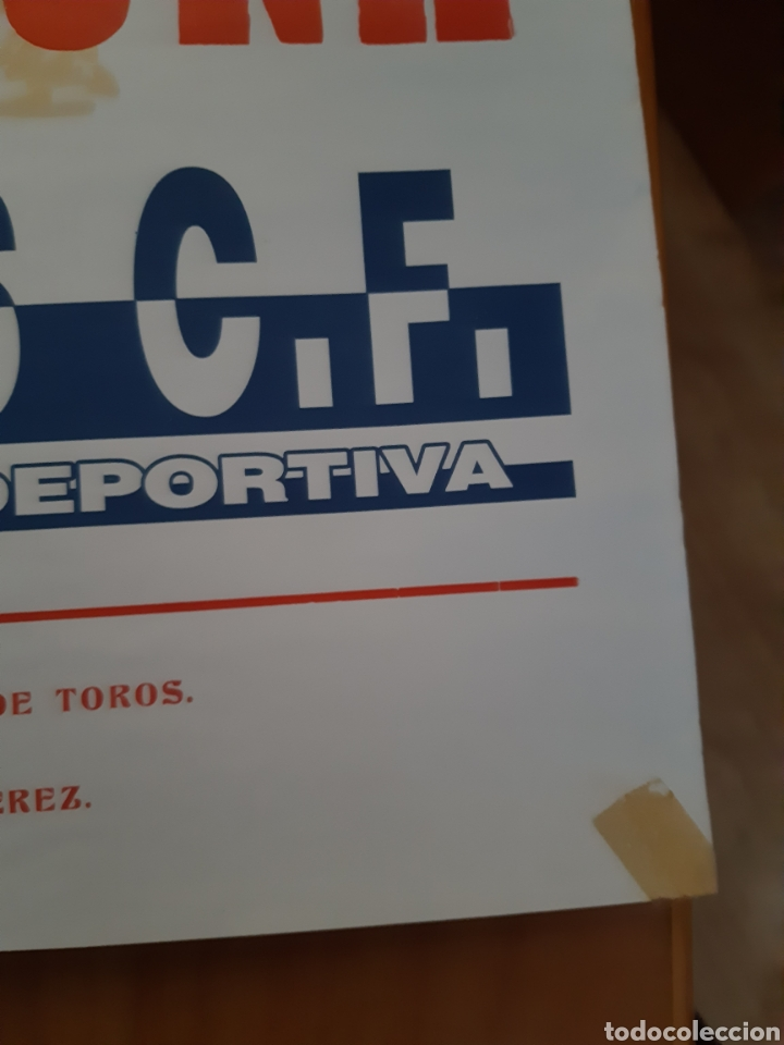 Coleccionismo deportivo: CARTEL PÓSTER FÚTBOL HÉRCULES OSASUNA SEGUNDA DIVISIÓN 95 96 1995 1996 - Foto 6 - 202681730