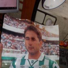 Coleccionismo deportivo: PÓSTER RAFAEL GORDILLO JUGADOR BETIS BALOMPIÉ TEMPORADA 94-95. Lote 203900291