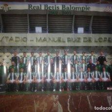 Coleccionismo deportivo: PÓSTER KAPPA REAL BETIS BALOMPIÉ 2002-2003. Lote 204124498