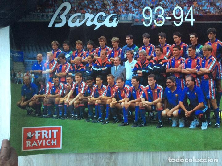 FÚTBOL CLUB BARCELONA PÓSTER TEMPORADA 93-94 MEDIDAS MEDIDAS 70X48 EN BUEN ESTADO CONSERVACIÓN (Coleccionismo Deportivo - Carteles de Fútbol)