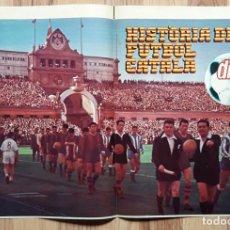 Colecionismo desportivo: POSTER DICEN. FINAL CAMPEONATO DE ESPAÑA. FUTBOL CATALA. F.C BARCELONA-ESPANYOL 1957 MONTJUIC. BARÇA. Lote 204546921