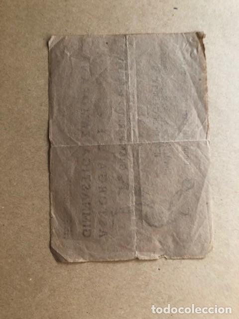 Coleccionismo deportivo: CARTEL CAMPO DEL FRENTE DE JUVENTUDES (PANTOJA) 1945 ASTORGA C.F. Y GIMNASTICA ZAMORANA C1 - Foto 2 - 205683257