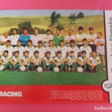 Coleccionismo deportivo: MINI POSTER REAL RACING CLUB SANTANDER 87/88 - REVISTA FUTGOL PLANTILLA LIGA 1987/1988. Lote 205760928