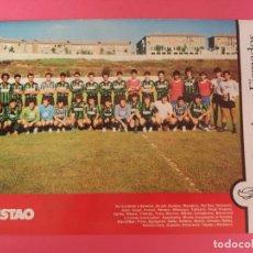 Coleccionismo deportivo: MINI POSTER SESTAO 87/88 - REVISTA FUTGOL PLANTILLA LIGA 1987/1988. Lote 205760990
