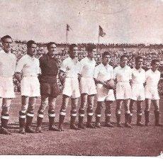 Coleccionismo deportivo: REAL MADRID: RECORTE DEL EQUIPO CAMPEÓN DE COPA EN 1946. Lote 207109157