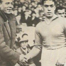 Coleccionismo deportivo: RECORTE DE RICARDO ZAMORA Y DIXIE DEANS. Lote 207110977