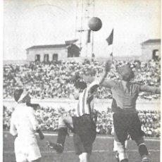 Coleccionismo deportivo: REAL MADRID: RECORTE DE RICARDO ZAMORA EN ACCIÓN. Lote 207112118
