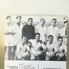 Coleccionismo deportivo: CARTEL DOCUMENTAL CINE 114 GOLES. REAL MADRID. Lote 207139943