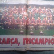 Coleccionismo deportivo: POSTER BARÇA 1992-93. Lote 207265912