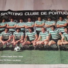 Collectionnisme sportif: GRAN POSTER SPORTING DE PORTUGAL 87X54CM. Lote 219344930