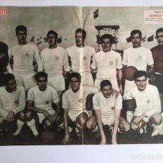 Coleccionismo deportivo: POSTER ALBACETE BALOMPIE 1960-61 SEGUNDA DIVISION REVISTA SEMANA. Lote 207857517