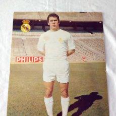 Coleccionismo deportivo: REAL MADRID - POSTER DE AMANCIO. Lote 132196990