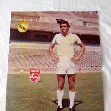 Coleccionismo deportivo: REAL MADRID - POSTER DE ANDRES GONZÁLEZ PONCE - GADITANO. Lote 132197150