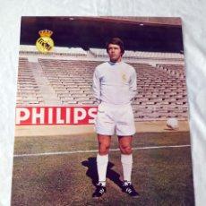 Coleccionismo deportivo: REAL MADRID - POSTER DE ANZARDA. Lote 132197314