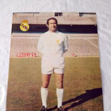Coleccionismo deportivo: REAL MADRID - POSTER DE GENTO. Lote 132197362