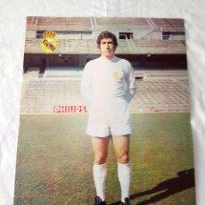 Coleccionismo deportivo: REAL MADRID - POSTER DE VELÁZQUEZ. Lote 132197482