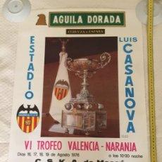 Coleccionismo deportivo: VALENCIA CSKA MOSCU DYNAMO MUSCO HERCULES TROFEO NARANJA. Lote 209651767