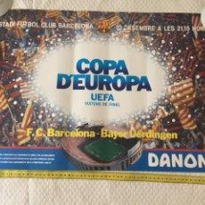 Coleccionismo deportivo: FC BARCELONA BAYER UERDINGEN UEFA 1986-87. Lote 209733388