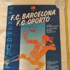 Coleccionismo deportivo: FC BARCELONA OPORTO UEFA 1986-87. Lote 209733641