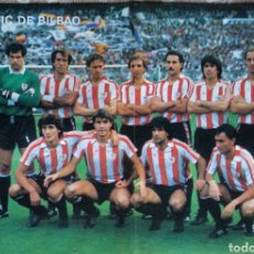 Collectionnisme sportif: PÓSTER ATHLETIC BILBAO LIGA 85/86. Lote 209764172