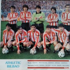 Collectionnisme sportif: PÓSTER ATHLETIC BILBAO LIGA 86/87. Lote 209764360