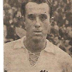 Colecionismo desportivo: VALENCIA CF: RECORTE DE MANUEL BADENES. ORIGINAL DE 1954. Lote 210391322