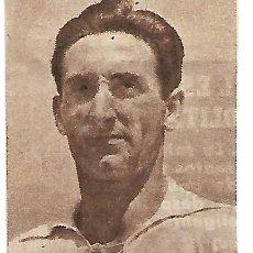 Colecionismo desportivo: VALENCIA CF: RECORTE DE FAAS WILKES. ORIGINAL DE 1954. Lote 210391376