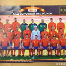 Coleccionismo deportivo: PÓSTER DIARIO 'MARCA' - MUNDIAL SUDÁFRICA 2010. Lote 211471032