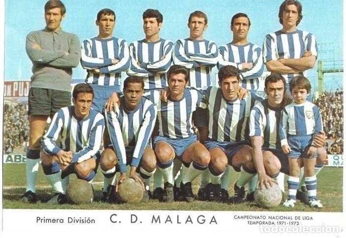 CD. MÁLAGA: LÁMINA DE LA TEMPORADA 69-70 (Coleccionismo Deportivo - Carteles de Fútbol)