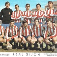 Coleccionismo deportivo: REAL SPORTING DE GIJÓN: LÁMINA DE LA TEMPORADA 69-70. Lote 215370996
