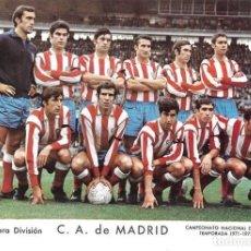 Coleccionismo deportivo: ATLÉTICO DE MADRID: LÁMINA DE LA TEMPORADA 69-70. Lote 215371451