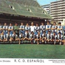 Coleccionismo deportivo: RCD. ESPAÑOL: LÁMINA DE LA TEMPORADA 70-71. Lote 215372226
