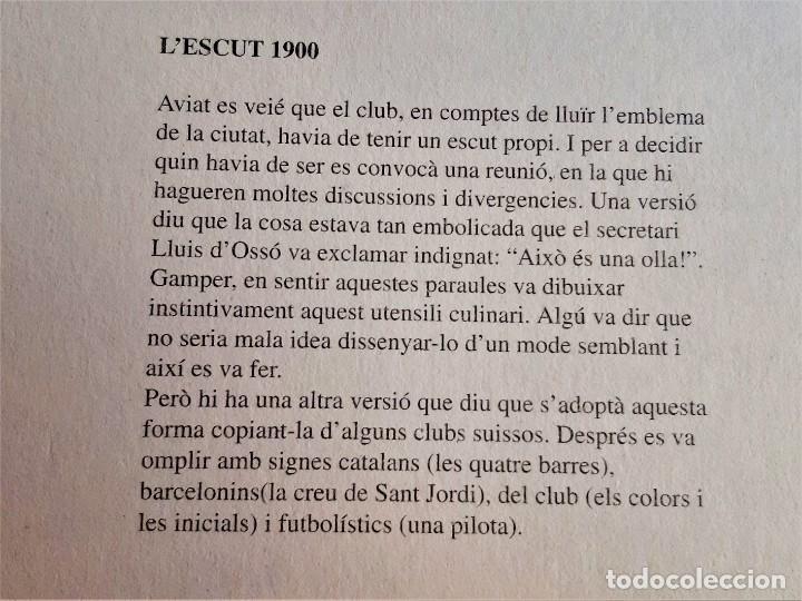 Coleccionismo deportivo: LAMINES HISTORIQUES BARCELONA CARTON - 21 X 30.CM - Foto 2 - 216454110