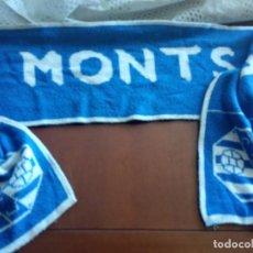 Collezionismo sportivo: MONTSANT SCARF FOOTBALL FUTBOL BUFANDA. Lote 216903860