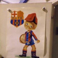 Coleccionismo deportivo: CARTEL POSTER FUTBOL CLUB BARCELONA. Lote 217366582