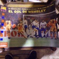 Coleccionismo deportivo: CARTEL POSTER FUTBOL CLUB BARCELONA. Lote 217371583