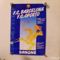 Coleccionismo deportivo: CARTEL POSTER FUTBOL CLUB BARCELONA. Lote 217374316